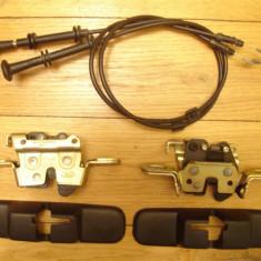 Ansamblu mecanism blocare + cablu cu maner pt rabatarea bachetei spate [bancheta spatar] FORD mondeo sedan 4 usi mk2 anii 1996 - 2000 din dezmembrare, MONDEO II (BFP) - [1996 - 2000]