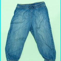 Blugi vara, foarte subtiri, elastic in talie, H&M _ fetite | 18-24 luni | 92 cm, Marime: Alta, Fete