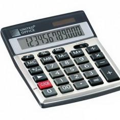 Calculator de birou si de buzunar cu 12 DIGITI, alimentare duala SOLAR + baterii - Calculator Birou