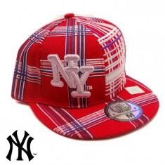 Sapca NEW YORK RED ORIGINALA - Sapca Barbati