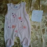 Haine Copii 0 - 6 luni - Lot 3 mar 56 salopeta groasa - haine bebe fetite 0-2 luni 1 buc