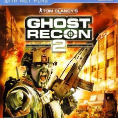 Jocuri PS2 Ubisoft, Actiune, 16+, Single player - Tom Clancy's Ghost Recon 2 - Joc ORIGINAL - PS2