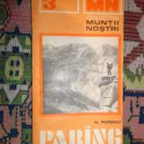 Carte Geografie - Muntii Parang( nr.8/ cu harta -colectia muntii nostri)