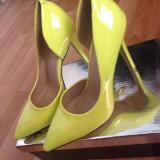 Pantofi neon stiletto - Pantofi dama, Marime: 37, Culoare: Din imagine, Din imagine