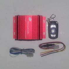 Amplificator audio, 41-80W - Mini statie auto 4x15 W cu telecomanda, permite intrare de Stick, Card micro SD