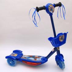 Trotineta copii - Trotineta albastra pentru baietei