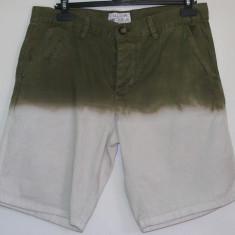 CALLIOPE Italy, Bermude barbati. Pantaloni scurti de blug in 2 culori Marime L, Marime: L, Culoare: Alb, Bumbac