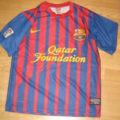 Tricou echipa fotbal - Tricou F.C Barcelona Nr. 7 David Villa marimea M 7 Nike (original)