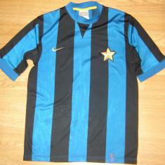 Tricou Fotbal Club Internazionale Milano Inter 1908 marimea M Nike - Tricou echipa fotbal, M, Albastru, De club, Maneca scurta