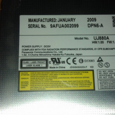 DVD-RW Panasonic UJ880A de pe Acer Aspire 5735 - Unitate optica laptop