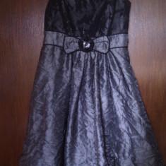 ROCHIE DAMA DONNA M NR. 40 - Rochie de zi Donna, Culoare: Negru, Din imagine