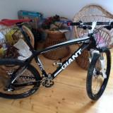 Mountain Bike Giant, 19 inch, 26 inch, Numar viteze: 21, Carbon, Negru mat - Giant xtc carbon sid xx tune ritchey xtr usoara light