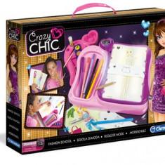 Crazy Chic - Scoala de moda - Jocuri arta si creatie Clementoni