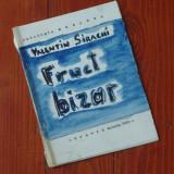 caiet realizat la masina de scris - Valentin Sirachi - fruct bizar ( poezie ) - Oravita1982 - Ed. de revista Accente a Liceului Agroindustrial Oravita