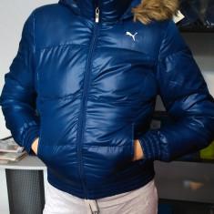 Geaca dama - Puma Wmns Snow Flake Hooded Jkt, Marime: L, Culoare: Indigo