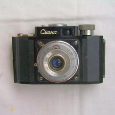 Aparat foto cu film rar, de colectie, dar perfect functional Smena+tocul original - Aparat Foto cu Film Smena, Mic
