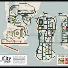 Afis - Poster Liberty City 1998