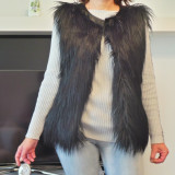 Vesta dama - Vand Veste blana Artificiala Jacopo si J&D Fashion.Toate sunt Made in italy