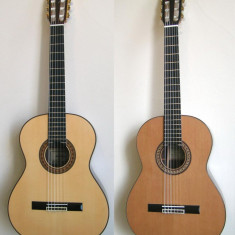 Chitara clasica din lemn de esenta tare + bonus pana si coarda