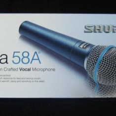 Microfon Shure Incorporated profesional Shure Beta 58 A.Made in Mexic