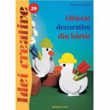 Obiecte Decorative din Hartie 28 - Idei Creative - Carte de colorat