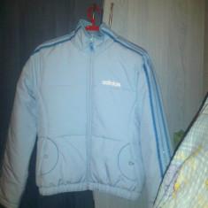 Geaca ADIDAS iarna, nou! - Geaca dama Adidas, Marime: M/L, Culoare: Bleu, Bleu