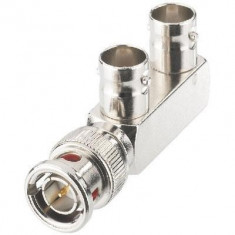 CONECTOR BNC SPLITTER Y 75 OHM PENTRU CAMERE DE SUPRAVEGHERE! - Camera CCTV