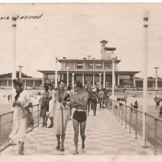 CPI (B4432) MAMAIA. CAZINOUL. CIRCULATA, STAMPILE, 1940, TIMBRU; CONSTANTA - Carte Postala Dobrogea dupa 1918, Fotografie