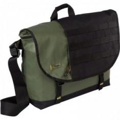 Geanta laptop Targus Military Messenger TSM14101EU, Geanta de umar, 15 inch, Poliester, Gri