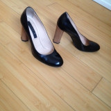 Pantofi dama, Piele naturala - PANTOFI PIELE NATURALA LACUITA MUSETTE CHRISTHELEN B