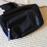Borseta, culoare neagra cu insertii galbene, marca Goodyear - Borseta Barbati