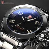Ceas SHARK 45MM Led Dual Time Analog si Digital! Un Ceas Masiv Barbates Sport - Ceas led