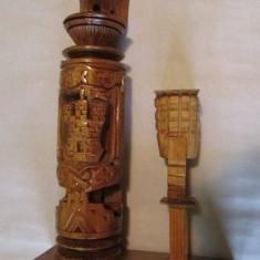 VULTUR-sculptura in lemn