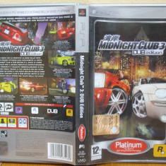 Midnight Club 3: Dub Edition Platinum (PSP) (ALVio) + sute de alte jocuri originale - Jocuri PSP Rockstar Games, Actiune, 12+
