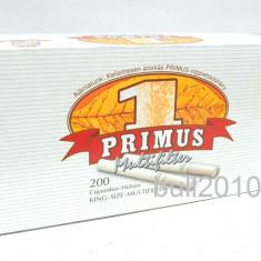 Foite tigari - Tuburi PRIMUS MULTIFILTER CU CARBON ACTIV 200 tuburi pentru tutun filtre tigari