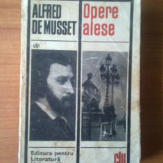 Roman - H1 Opere Alese - Alfred De Musset