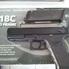 Pistol Glock G-18C Realistic blowback action