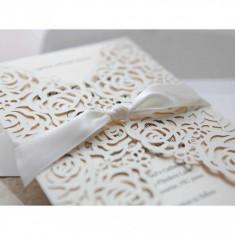 Invitatii nunta personalizate de lux