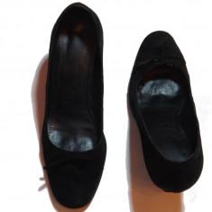 Pantofi dama - marimea 38 - negri - stare foarte buna !