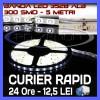 Iluminat decorativ ZDM - ROLA BANDA 300 LED - LEDURI SMD 3528 ALB (ALBA, ALBE) - 5 METRI, IMPERMEABILA (WATERPROOF), FLEXIBILA