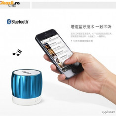 Boxa iPhone Samsung HTC Nokia SONY Bluetooth by Yoobao Originala Blue - Boxa portabila Yoobao, Conectivitate bluetooth: 1