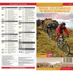 Schubert & Franzke Harta Trasee Cicloturistice in Muntii Banatului MB02 - Harta Turistica
