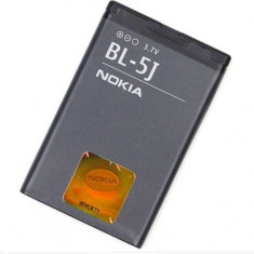 Baterie Nokia 520 525 5800 5230 N900 X6 C3 Asha 200 201 BL-5J Originala Swap A, Li-ion
