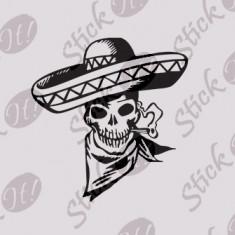 Tapet - Dead Cowboy_Tatuaj perete_Sticker diverse_DIV-182-Dimensiune: 35 cm. X 33.6 cm. - Orice culoare, Orice dimensiune