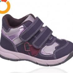 Noi! Ghetute cu scai mov, marca Bobbi Shoes, fetite marimea 22 - Pantofi copii, Fete