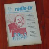Ziar Radio Tv - anul XXVIII nr 18 saptamana 2 - 8 mai 1982 !!!