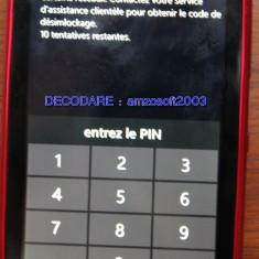Decodare telefon, Garantie - DECODARE DEBLOCARE NOKIA LUMIA 520, 625, 710, 900, 920, 1320 ORANGE FRANTA *** Online pe baza de IMEI *** Cod pentru deblocare ** Rapid, sigur, ieftin **