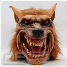 Masca carnaval - Masca lup varcolac werewolf Halloween petreceri tematice craciun cosplay +CADOU!