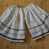 PANTALONI POPULARI MARAMURESENI, COSTUM POPULAR, VECHI - tesatura textila
