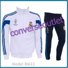 Trening barbati - Trening ADIDAS REAL MADRID - Bluza si pantaloni conici - Modele noi Pret Special